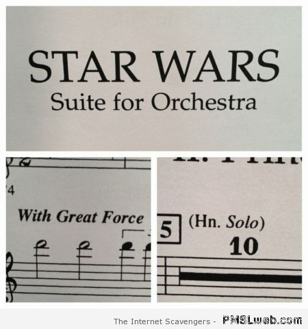 Star Wars suite for orchestra at PMSLweb.com