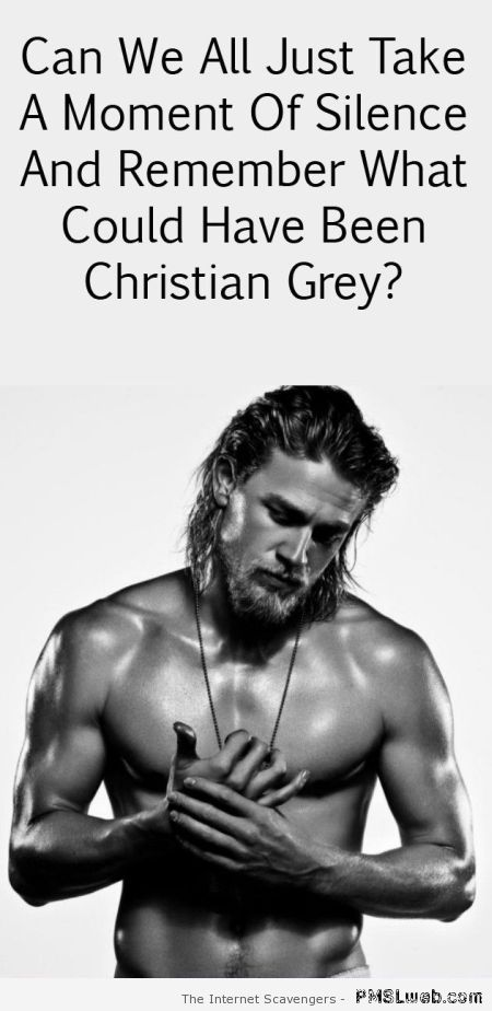 What could have been Christian Grey at PMSLweb.com