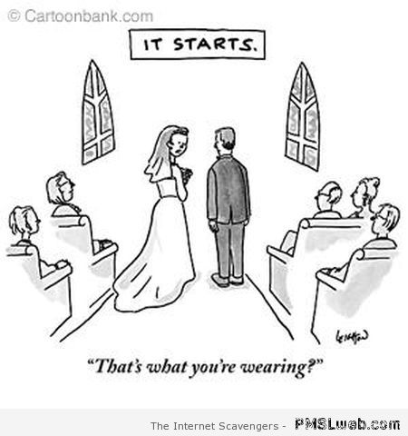 Marriage it starts cartoon at PMSLweb.com
