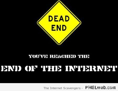 You've reached the end of the internet at PMSLweb.com