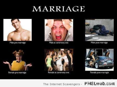 Marriage demotivational at PMSLweb.com