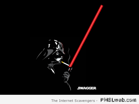 Darth Vader is a swagger at PMSLweb.com