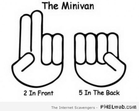 The minivan humor at PMSLweb.com