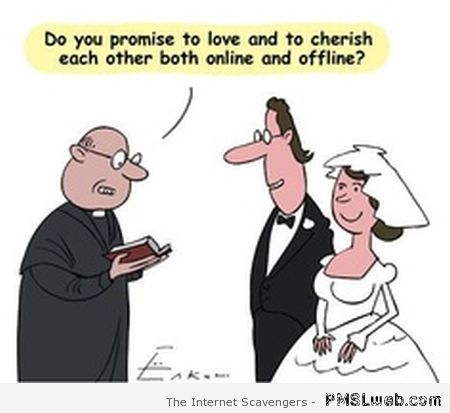 Modern wedding humor at PMSLweb.com