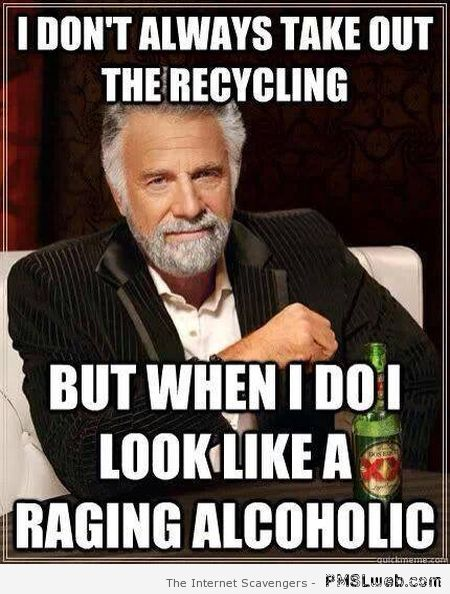 Taking out the recycling meme at PMSLweb.com