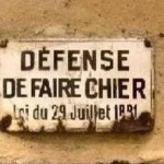 defense-de-faire-chier