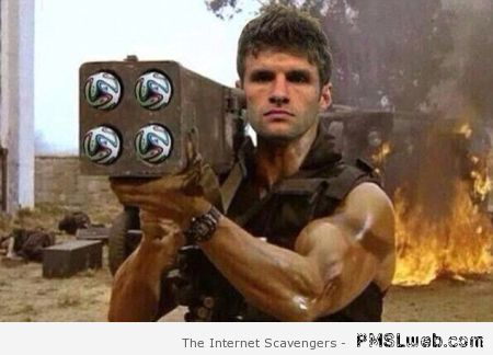 Football commando Muller at PMSLweb.com