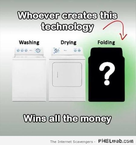 Folding machine humor at PMSLweb.com