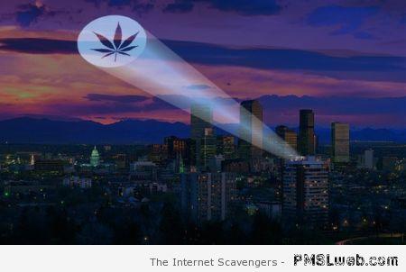 Weed bat signal – Thursday craze at PMSLweb.com