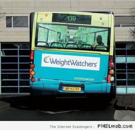 Funny weight watchers art at PMSLweb.com