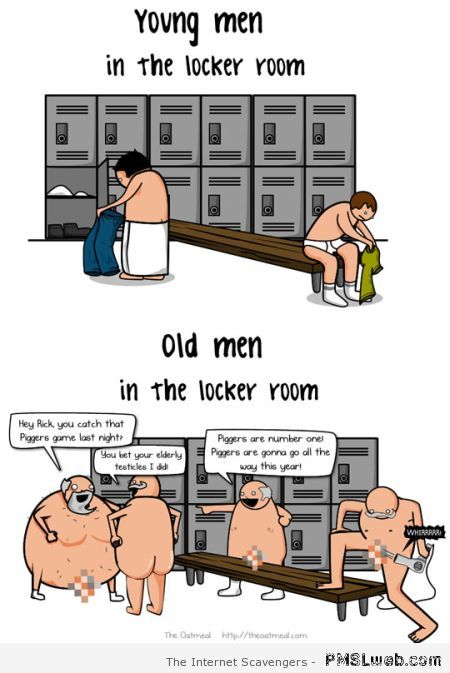 Young men versus old men at PMSLweb.com