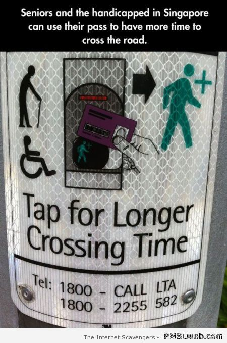 Tap for long crossing time at PMSLweb.com