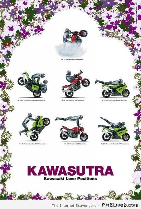 Kawasutra Kawasaki love positions at PMSLweb.com