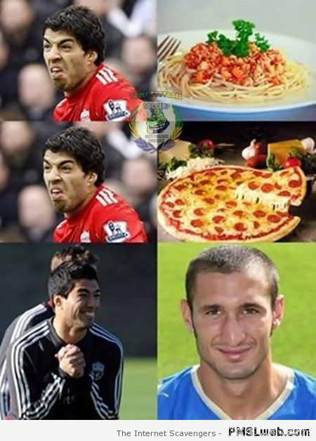 How Suarez sees Chiellini – FIFA world cup best of at PMSLweb.com