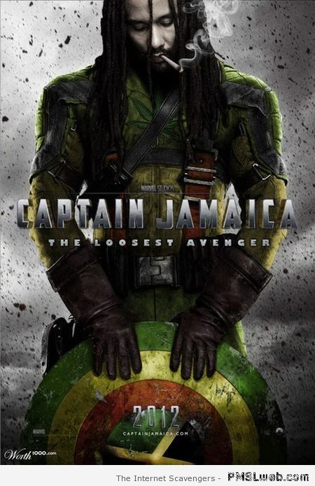 Captain Jamaica parody – Weekend madness at PMSLweb.com