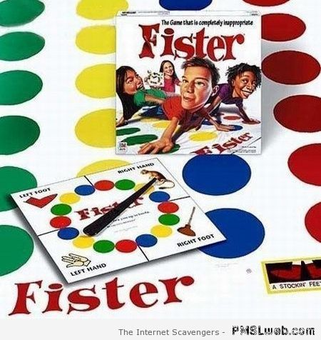 Fister board game – Explicit language humor at PMSLweb.com