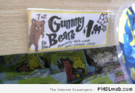 Gummy bears pedo bear fail at PMSLweb.com