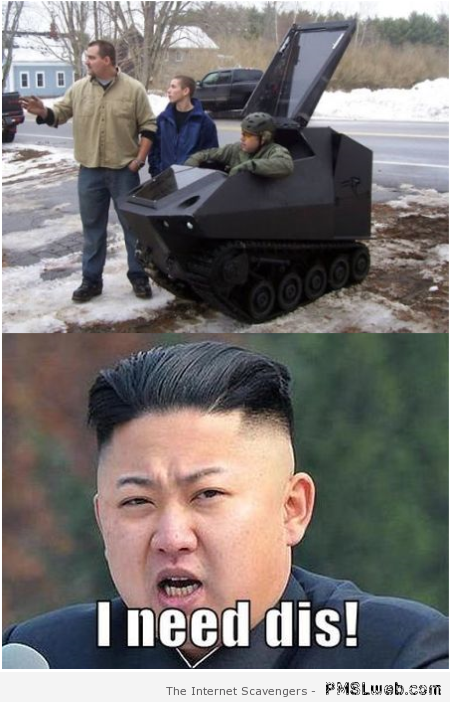 Kim Jong-Un meme – Funny Saturday at PMSLweb.com