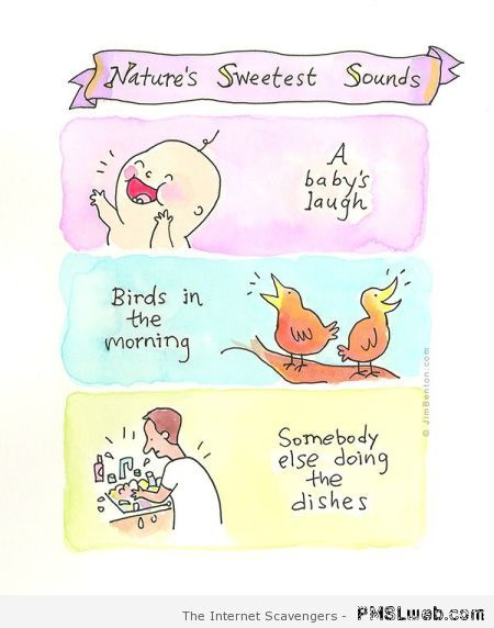 Nature's sweetest sounds humor at PMSLweb.com