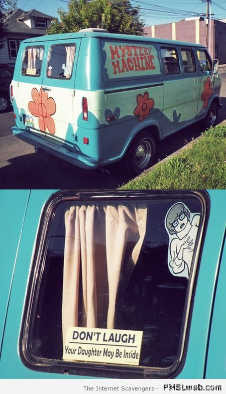 Mystery machine win – Funny Saturday at PMSLweb.com