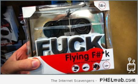 The flying f*ck at PMSLweb.com