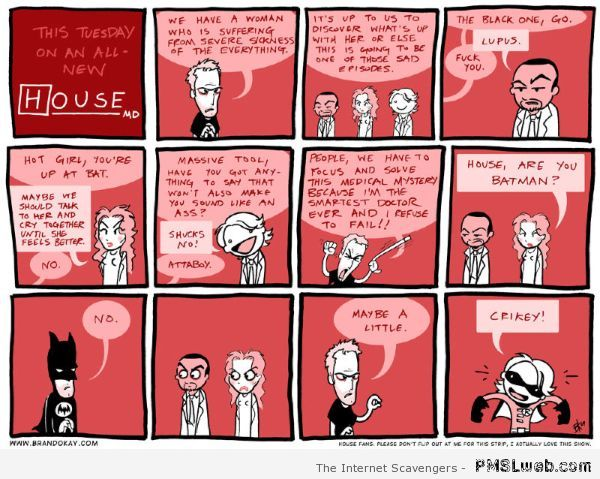 Funny Dc House cartoon at PMSLweb.com