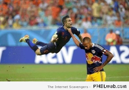 Van persie and Thierry Henry at PMSLweb.com