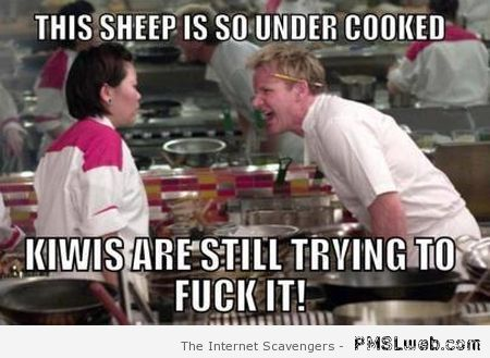 Ramsay this sheep is so undercooked meme at PMSLweb.com