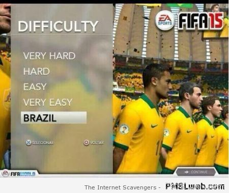 FIFA 15 difficulty level Brazil – FIFA world cup best of at PMSLweb.com