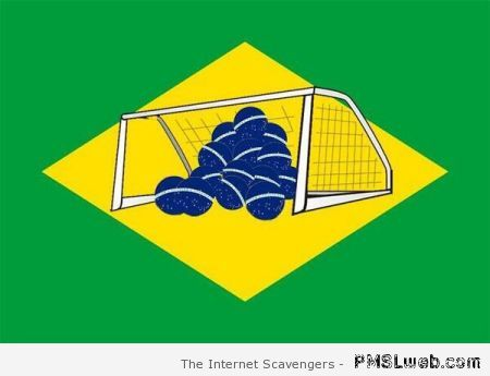 New Brazilian flag humor at PMSLweb.com