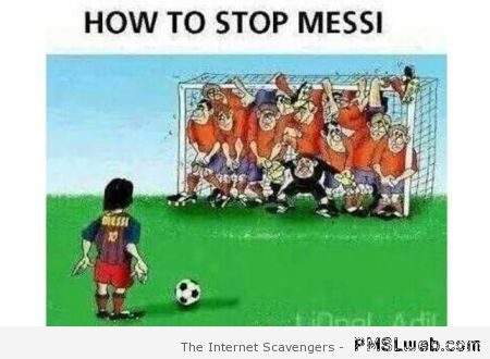 How to stop Messi cartoon at PMSLweb.com