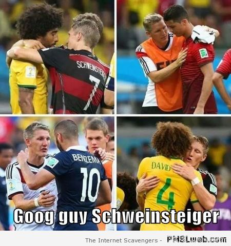 Schweinsteiger good guy meme at PMSLweb.com