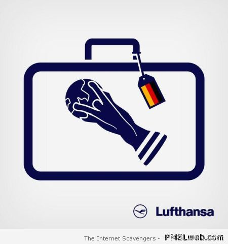 Lufthansa world cup win at PMSLweb.com