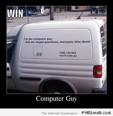 Computer guy win at PMSLweb.com
