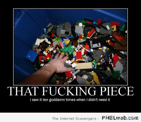 Lego humor – Explicit language humor at PMSLweb.com
