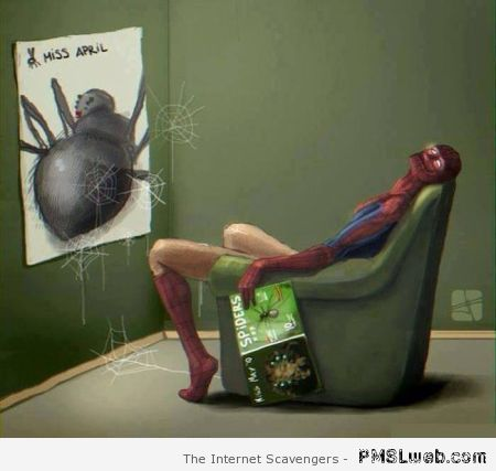 Naughty spiderman at PMSLweb.com