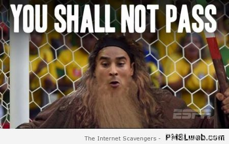 Ochoa you shall not pass meme at PMSLweb.com