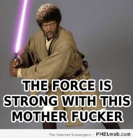The force is strong with Samuel L Jackson at PMSLweb.com