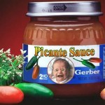 Funny Gerber picante sauce at PMSLweb.com