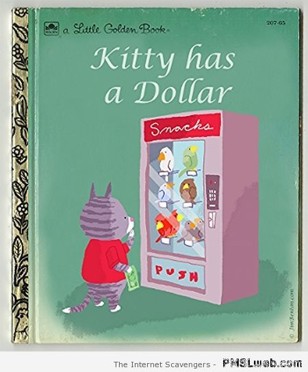 Kitty has a dollar little golden book at PMSLweb.com