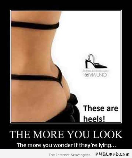 these are heels demotivational at PMSLweb.com