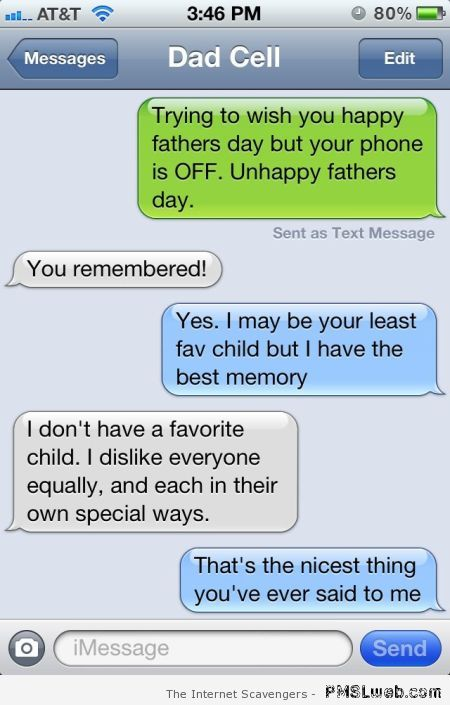 Father win on iPhone – Silly Thursday at PMSLweb.com