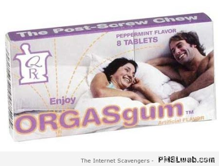 Orgasgum product at PMSLweb.com