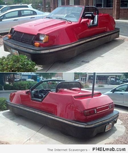 Funny bumper car design at PMSLweb.com