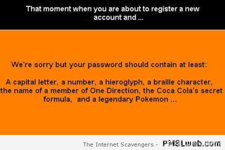 That moment when you're about to register an account at PMSLweb.com