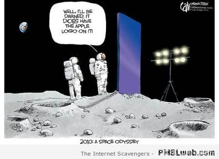 Funny 2010 a space odyssey cartoon – Weekend laughter at PMSLweb.com