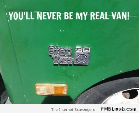 Step van humor at PMSLweb.com