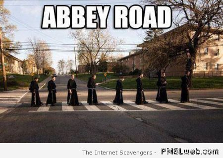Abbey road meme  - Funny Sunday pictures at PMSLweb.com