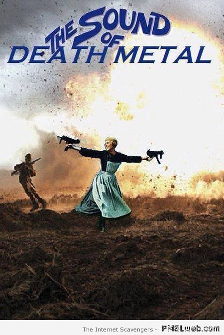 The sound of death metal humor at PMSLweb.com