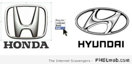 Honda and Hyundai funny at PMSLweb.com